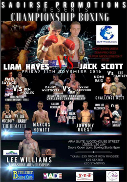 bethlehem boxing club event 11th november 2016